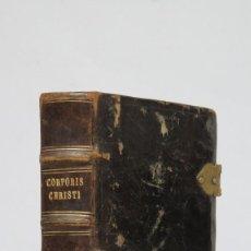 Libros antiguos: 1792.- OFFICIUM ET MISSA IN FESTO ET PER OCTAVAM CORPORIS CHRISTI. MATRITI. Lote 71244831