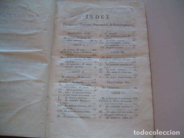 Libros antiguos: R. P. FR. ANTONIO A S. JOSEPH. Compendium Salmanticense. Tomus Secundus. RM78236. - Foto 3 - 71796931