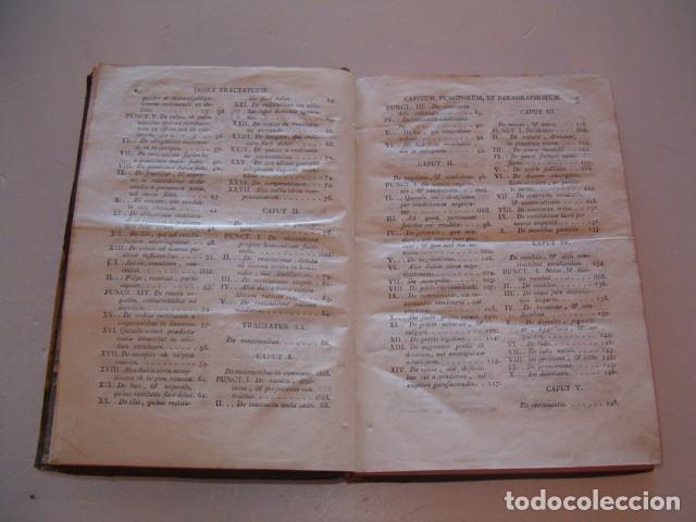 Libros antiguos: R. P. FR. ANTONIO A S. JOSEPH. Compendium Salmanticense. Tomus Secundus. RM78236. - Foto 4 - 71796931