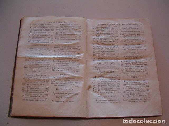 Libros antiguos: R. P. FR. ANTONIO A S. JOSEPH. Compendium Salmanticense. Tomus Secundus. RM78236. - Foto 5 - 71796931
