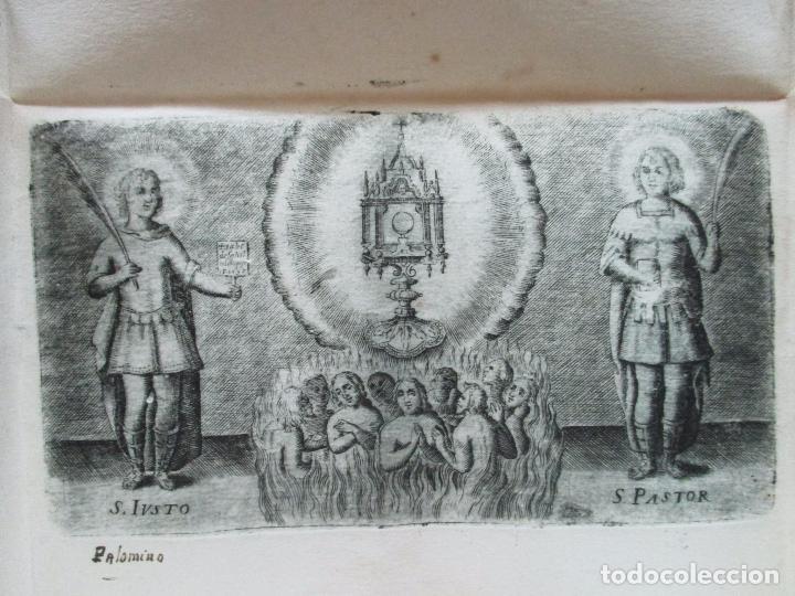 Libros antiguos: BREVE ELOGIO, Y CEÑIDA RELACIÓN DE LA VIDA, ENFERMEDAD...FRANCISCO FARNESIO. 1728. 3 OBRAS EN 1 VOL. - Foto 4 - 71822743