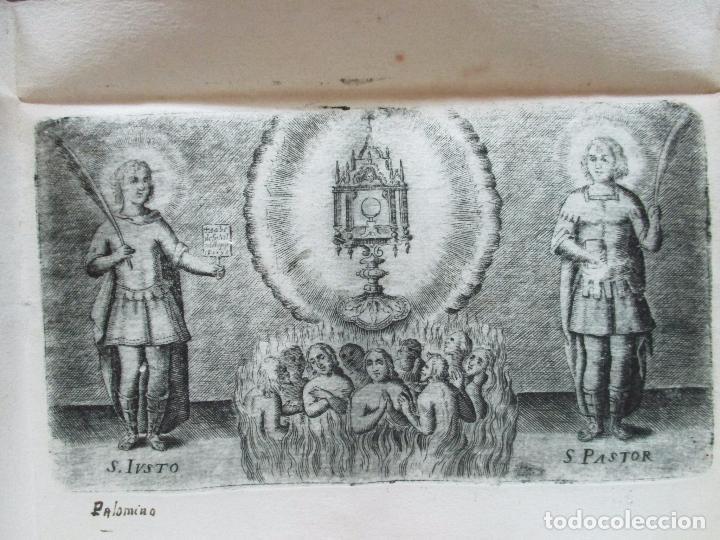 Libros antiguos: BREVE ELOGIO, Y CEÑIDA RELACIÓN DE LA VIDA, ENFERMEDAD...FRANCISCO FARNESIO. 1728. 3 OBRAS EN 1 VOL. - Foto 5 - 71822743