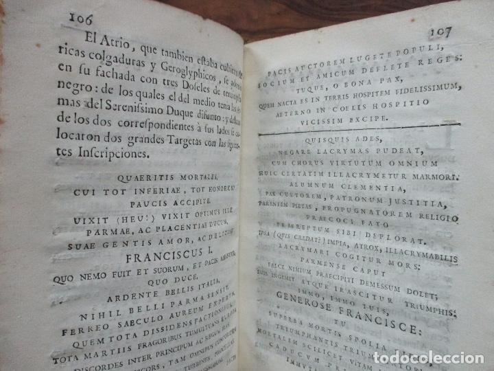 Libros antiguos: BREVE ELOGIO, Y CEÑIDA RELACIÓN DE LA VIDA, ENFERMEDAD...FRANCISCO FARNESIO. 1728. 3 OBRAS EN 1 VOL. - Foto 7 - 71822743