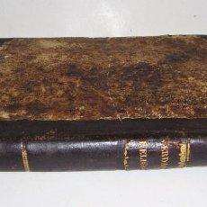 Libros antiguos: LECCIONES ELEMENTALES DE VERDADERA RELIGIÓN. OVIEDO: 1838. ENCUADERNADO EN PIEL.. Lote 72056735