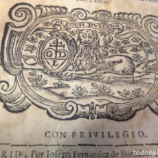 Libros antiguos: G ARGAIZ SOLEDAD LAUREADA POR SAN BENITO Y SUS HIJOS IGLESIAS ESPAÑA BETICA.MADRID 1675 G. LEÓN. Lote 72084183