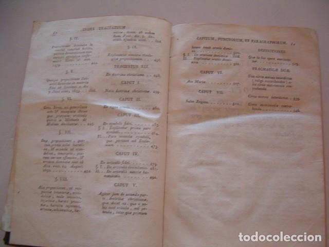 Libros antiguos: R. P. FR. ANTONIO A S. JOSEPH. Compendium Salmanticense in tres tomos. Tomus Tertius. RM78339. - Foto 7 - 72219279
