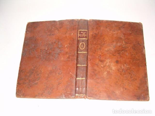 Libros antiguos: Colección en Latín y Castellano de las Bulas del Santísimo Padre Benedicto XIV. TRES TOMOS. RM78422. - Foto 2 - 73437823