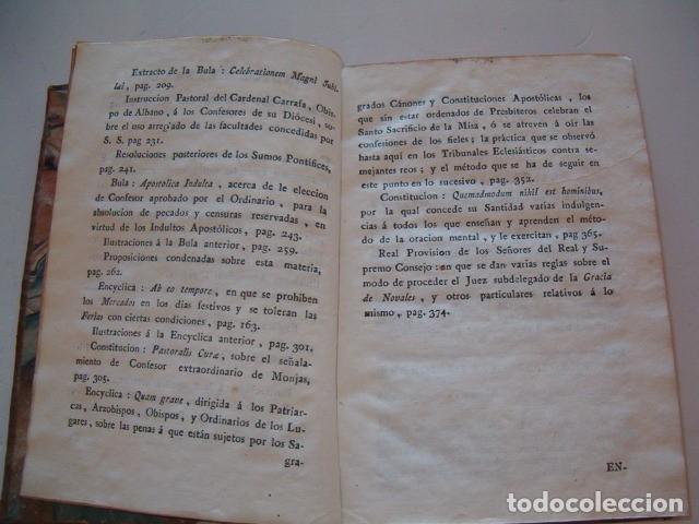 Libros antiguos: Colección en Latín y Castellano de las Bulas del Santísimo Padre Benedicto XIV. TRES TOMOS. RM78422. - Foto 9 - 73437823