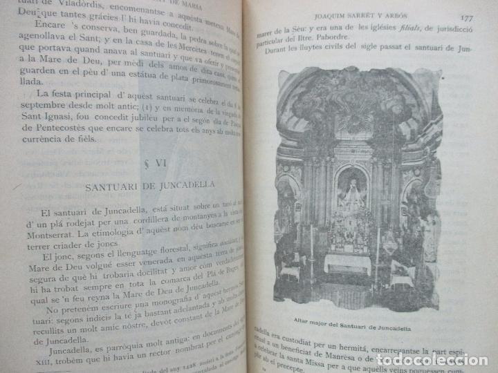 Libros antiguos: MANRESA, CIUTAT DE MARIA. JOAQUIM SARRET Y ARBÓS. - Foto 5 - 74560775