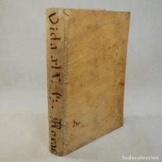Libros antiguos: VIDA DEL VENERABLE SIERVO DE DIOS, FRAY SIMON DE ROXAS. Lote 54240544