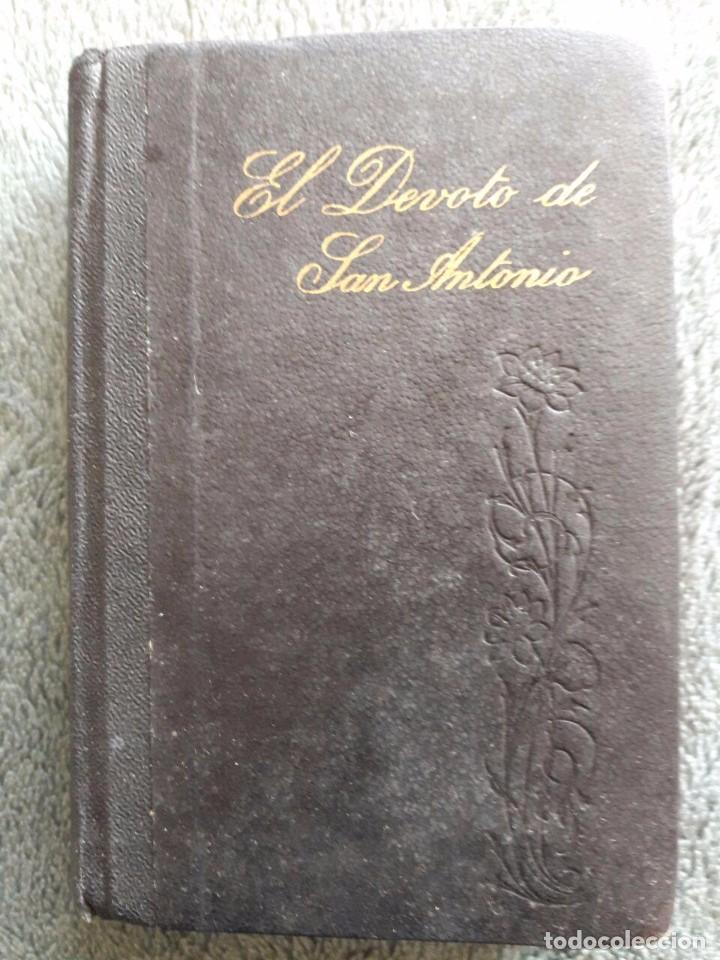 EL DEVOTO DE SAN ANTONIO DE PADUA / MARCELINO NAVA DELGADO / EDITORIAL BEVER - CUESTA / 1970 (Libros Antiguos, Raros y Curiosos - Religión)