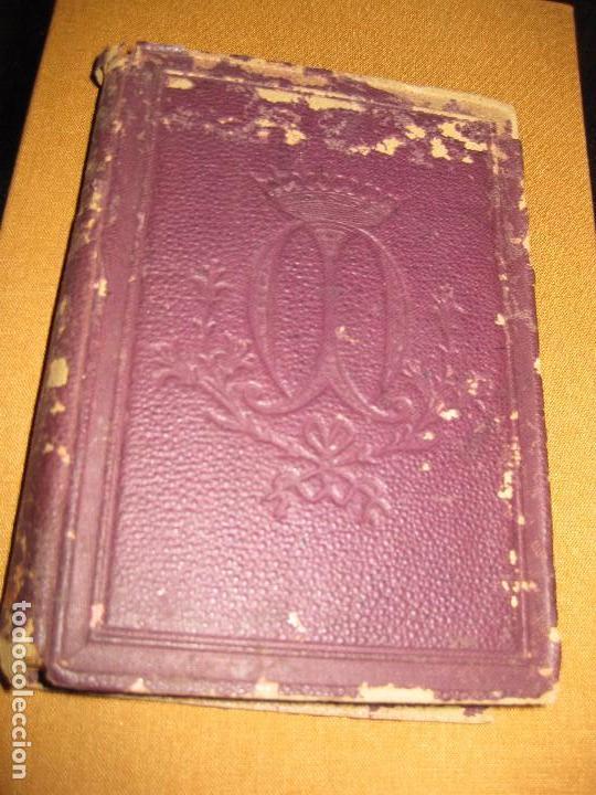 LIBRITO RAMILLETE MISTICO . PIADOSOS EJERCICIOS DEL MES DE MAYO VIRGEN MARIA . 1891 (Libros Antiguos, Raros y Curiosos - Religión)