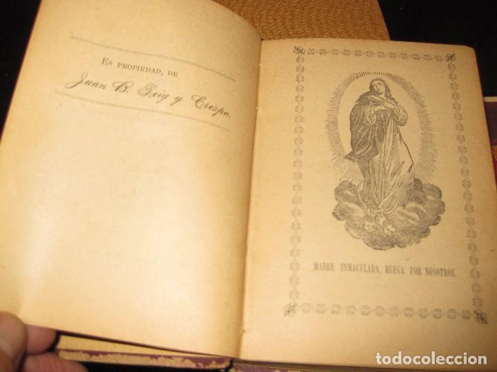 Libros antiguos: librito ramillete mistico . piadosos ejercicios del mes de mayo virgen maria . 1891 - Foto 4 - 75749799