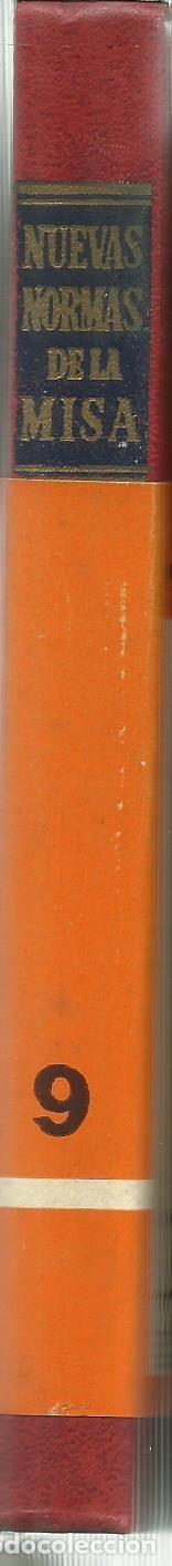 Libros antiguos: NUEVAS NORMAS DE LA MISA. J.Mª PATINO. . BILIOTECA DE AUTORES CRISTIANOS. MADRID. 1979 - Foto 3 - 76224315