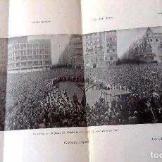 Libros antiguos: DOS JALONES BLANCOS PARA LA HISTORIA DE VALENCIA. FOTOGRAFIAS DEL AÑO 1949. Lote 76804499