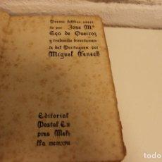 Libros antiguos: POEMA BÍBLICO ESCRITO POR JOSÉ Mª EÇA DE QUEIROZ. TRADUCIDO MIGUEL FENECH. MELILLA, 1918. RARO. Lote 76939793