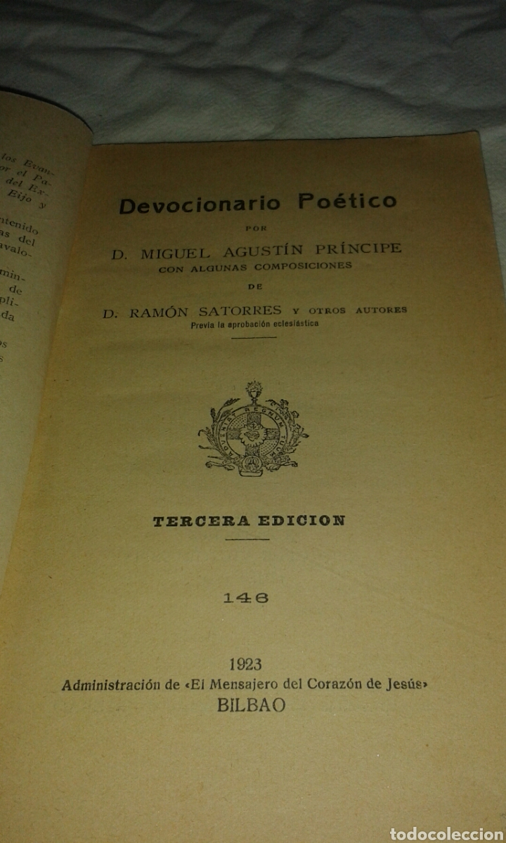Libros antiguos: Libro religioso - Foto 2 - 77782295