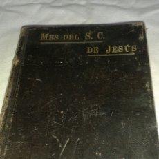 Libros antiguos: LIBRO MES CORAZÓN DE JESÚS. Lote 77785759