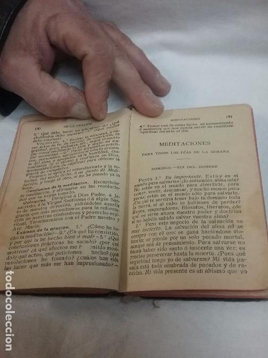 Libros antiguos: ANTIGUO DEVOCIONARIO AÑO 1912 - DEVOCIONARIO MANUAL AUMENTADO - Foto 3 - 77907089