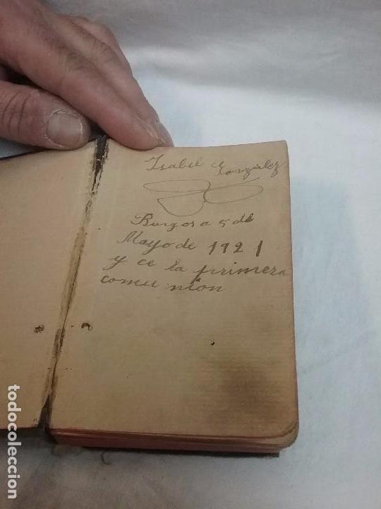 Libros antiguos: ANTIGUO DEVOCIONARIO AÑO 1912 - DEVOCIONARIO MANUAL AUMENTADO - Foto 4 - 77907089