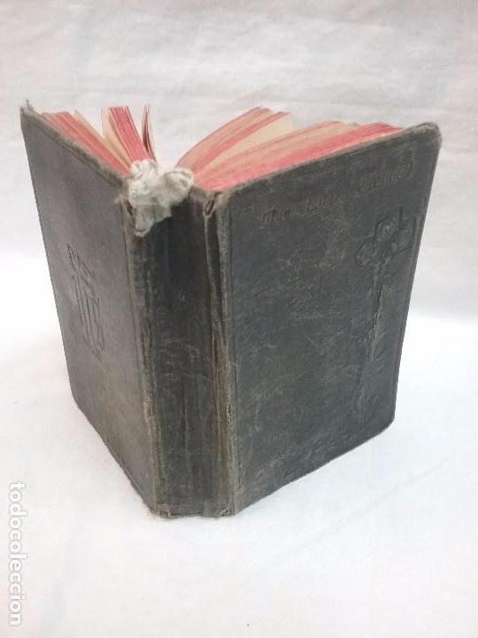 Libros antiguos: ANTIGUO DEVOCIONARIO AÑO 1912 - DEVOCIONARIO MANUAL AUMENTADO - Foto 5 - 77907089