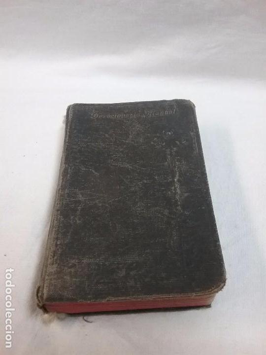 ANTIGUO DEVOCIONARIO AÑO 1912 - DEVOCIONARIO MANUAL AUMENTADO (Libros Antiguos, Raros y Curiosos - Religión)