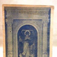 Libros antiguos: REVISTA, PROGRAMA FIESTA DE LOS NIÑOS DE LA CALLE SAN VICENTE, 1944-45, VALENCIA. Lote 78125077