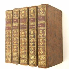 Libros antiguos: 1756 - 5 TOMOS DEL SIGLO XVIII - JURISPRUDENCIA, MATRIMONIO, DERECHO CANÓNICO - LIBRO ANTIGUOS, PIEL. Lote 78252381