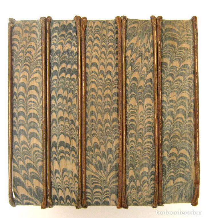 Libros antiguos: 1756 - 5 Tomos del Siglo XVIII - Jurisprudencia, Matrimonio, Derecho Canónico - Libro Antiguos, Piel - Foto 3 - 78252381