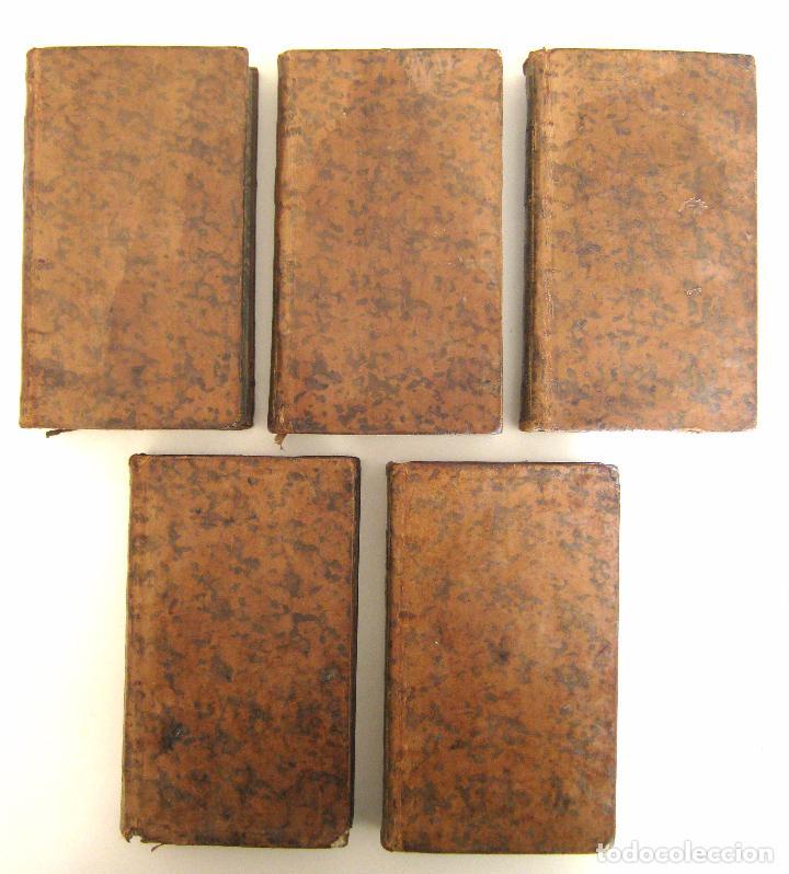 Libros antiguos: 1756 - 5 Tomos del Siglo XVIII - Jurisprudencia, Matrimonio, Derecho Canónico - Libro Antiguos, Piel - Foto 4 - 78252381
