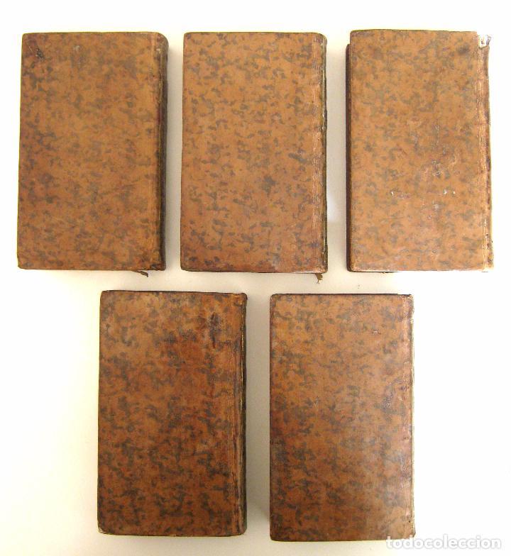Libros antiguos: 1756 - 5 Tomos del Siglo XVIII - Jurisprudencia, Matrimonio, Derecho Canónico - Libro Antiguos, Piel - Foto 5 - 78252381