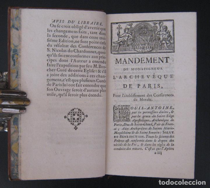 Libros antiguos: 1756 - 5 Tomos del Siglo XVIII - Jurisprudencia, Matrimonio, Derecho Canónico - Libro Antiguos, Piel - Foto 11 - 78252381