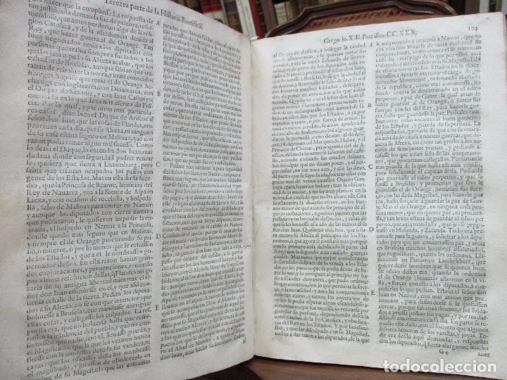 Libros antiguos: TERCERA PARTE DE LA HISTORIA PONTIFICAL Y CATOLICA. LUIS DE BAVIA. 1609. - Foto 7 - 79302801