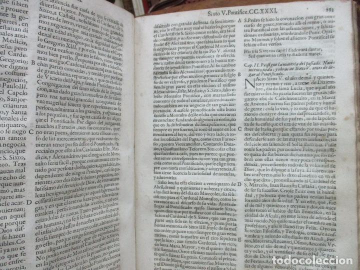Libros antiguos: TERCERA PARTE DE LA HISTORIA PONTIFICAL Y CATOLICA. LUIS DE BAVIA. 1609. - Foto 12 - 79302801