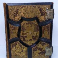 Alte Bücher - PRONOUNCING PARALLEL BIBLE ( BIBLIA AMERICANA 1892) HOLY BIBLE - 80025637