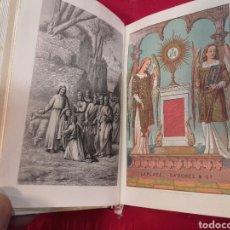 Libros antiguos: PRECIOSO DEVOCIONARIO LA RESURRECIÓN CON TAPAS DE EBONITA TALLADAS Y SU ESTUCHE ORIGINAL. SIGLO XIX.. Lote 80135545