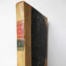 Libros antiguos: 1829, PRIMERA EDICIÓN: DON PÁPIS DE BOBADILLA O DEFENSA DEL CRISTIANISMO. LIBRO RAFAEL DE CRESPO T 1. Lote 80283797