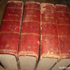 Libros antiguos: LA SAGRADA BIBLIA, 1.868, SCIO DE SAN MIGUEL, TOMOS 1, 2, 3 Y 4. Lote 86191322