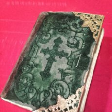 Libros antiguos: DEVOCIONARIO DIAMANTE DIVINO,LIBRERÍA HISTÓRICA 1850 BARCELONA . Lote 80638007