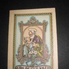 Libros antiguos: VIDA DE SANT JOSEP ESPOS DE LAVERGE MARIA. JOSEP FRASSINETTI. FOMENT DE PIETAT 1931.. Lote 81691360