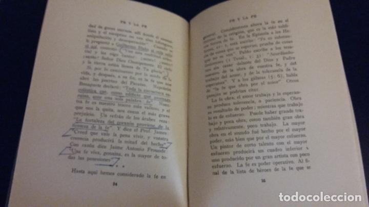 Libros antiguos: fe y la fe / t.t. eaton / 1919 - Foto 2 - 82018824