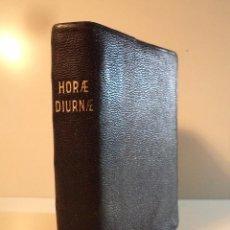 Libros antiguos: HORAE DIURNAE. BREVIARII ROMANI. APUD HEREDES JOANNIS GILI, MCMXVII (1917),. Lote 82470688