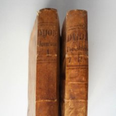 Libros antiguos: PREDICHE SOPRA I VANGELJ... NICCOLA DE DIJONE - DOS TOMOS - AÑO 1760 - EDITADO EN VENECIA. Lote 83047412