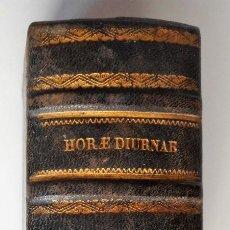 Libros antiguos: HORAE DIYRNAE BREVIARII ROMANI EX DECRETO - S.PII V. PONTIFICIS MAXIMI - VENETIIS 1755. Lote 83470188