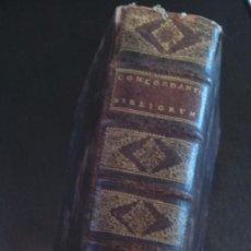 Libros antiguos: CONCORDANTIAE BIBLIORUM UTRISQUE TESTAMENTI VETERIS ET NOVI AÑO 1587 BIBLIA 432 AÑOS DE ANTIGÜEDAD. Lote 84253972