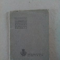 Libros antiguos: CARTA DE SS BENEDICTO XV. Lote 84357606