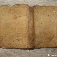 Libros antiguos: ENCHIRIDION JURIS UTRIUSQUE. MADRID, JOAQUÍN IBARRA. 1763. ENCUADERNACIÓN EN PERGAMINO . Lote 84452548