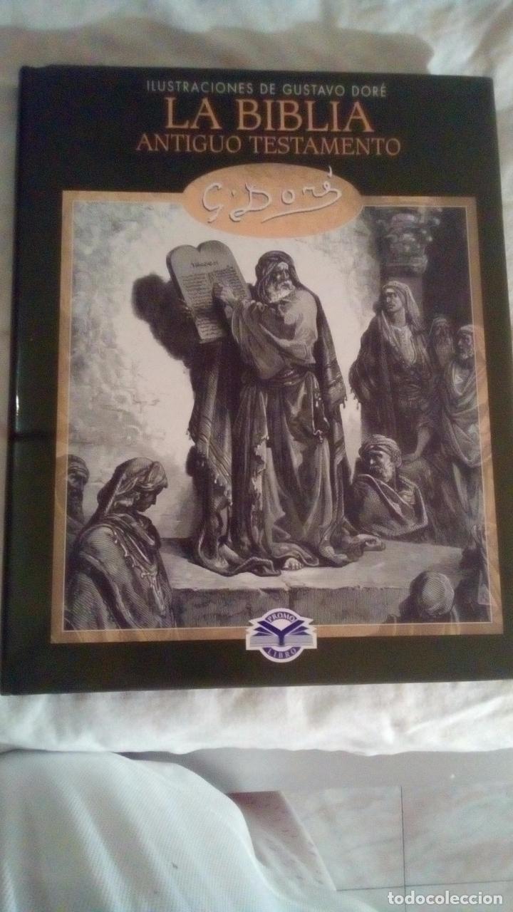LA BIBLIA ANTIGUO TESTAMENTO GUSTAVO DORE (Libros Antiguos, Raros y Curiosos - Religión)