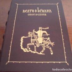Libros antiguos: BEATO DE LIÉBANA CÓDICE DE GERONA, AÑO 975. FACSÍMIL. MOLEIRO. Lote 40225065