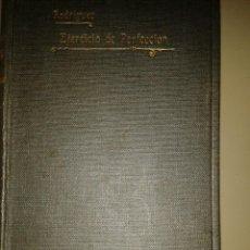 Libros antiguos: EJERCICIO DE PERFECCIÓN Y VIRTUDES CRISTIANAS. ALONSO RODRIGUEZ . 1918. SEIS TOMOS. Lote 84586612